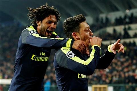 Thang Ludogorets, Arsenal tro thanh Vua nguoc dong tai C1 hinh anh