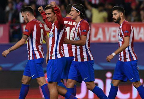 Tổng hợp: Atletico Madrid 2-1 Rostov (Bảng D Champions League 2016/17)