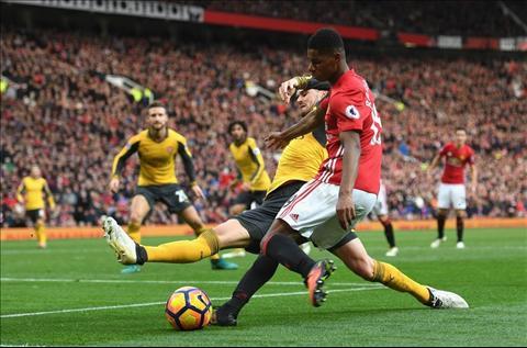 M.U 1-1 Arsenal Rashford dut diem