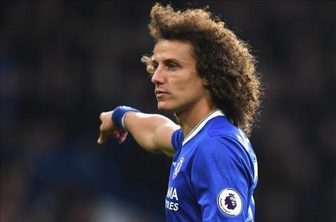 David Luiz canh tinh dong doi tai Chelsea sau khi len dinh hinh anh