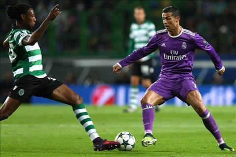 Sporting 1-2 Real Nhin tu cai tho dai cua Ronaldo… hinh anh