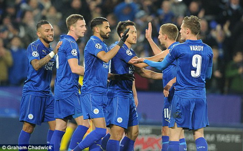 Leicester 2-1 Club Brugge Vua nuoc Anh nhe nhang qua vong bang Champions League hinh anh