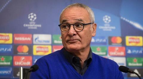 Vuot vong bang Champions League, HLV Ranieri tuyen bo Leicester quyet tap trung cho Premier League.
