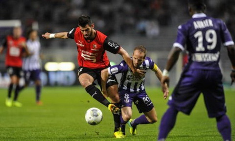 Nhan dinh Rennes vs Toulouse 02h45 ngay 2611 (Ligue 1 201617) hinh anh