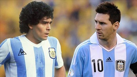 Messi vs Maradona May man hon, nhung thua kem tinh than chien dau hinh anh