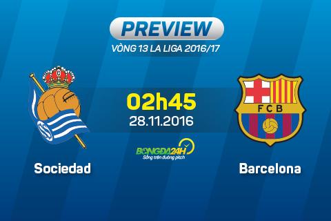 Preview: Sociedad - Barcelona