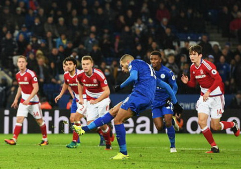 Tong hop Leicester 2-2 Middlesbrough (Vong 13 NHA 201617) hinh anh