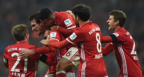 Tong hop Bayern Munich 2-1 Leverkusen (Vong 12 Bundesliga 201617) hinh anh