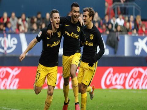 Tong hop Osasuna 0-3 Atletico Madrid (Vong 13 La Liga 201617) hinh anh