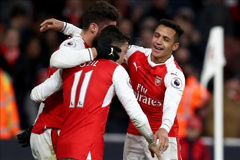 Du am Arsenal 3-1 Bournemouth Khi kho co Sanchez hinh anh