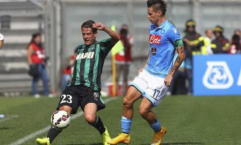 Nhan dinh Napoli vs Sassuolo 01h00 ngay 2911 (Serie A 201617) hinh anh