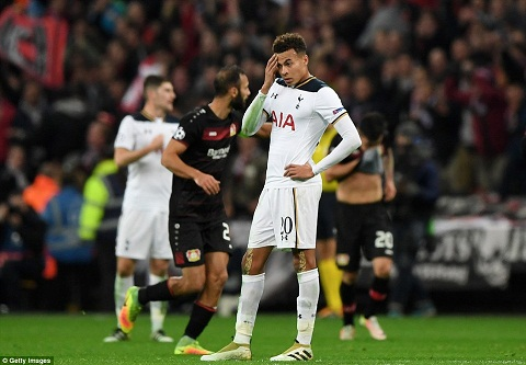 Du am Tottenham 0-1 Leverkusen Spurs co qua nhieu van de hinh anh 2
