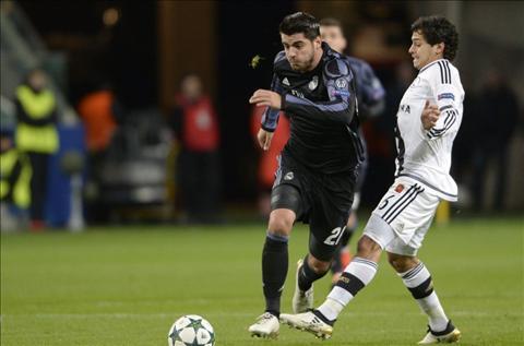 Real vs Legia Morata