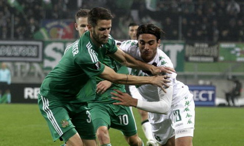 Nhan dinh Sassuolo vs Rapid Wien 01h00 ngay 0411 (Europa League 201617) hinh anh