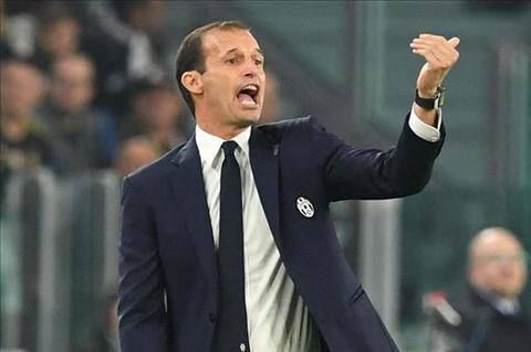 Allegri noi gian voi su lo dang cua cac cau thu Juventus hinh anh