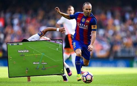 Iniesta van la cau thu khong the thay the tai Barcelona.