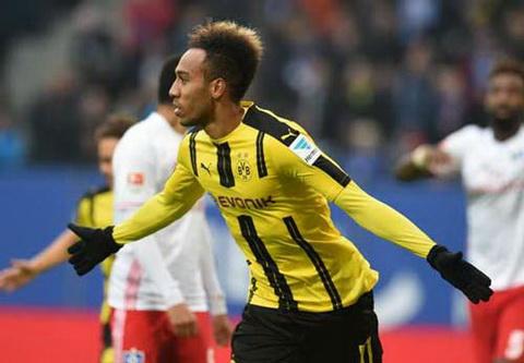 Tong hop Hamburg 2-5 Dortmund (Vong 10 Bundesliga 201617) hinh anh