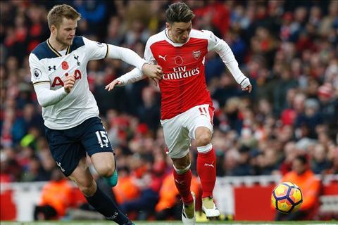 Arsenal vs Tottenham Dier Ozil