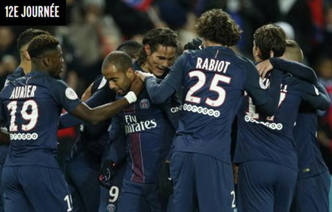 Tong hop PSG 4-0 Rennes (Vong 12 Ligue 1 201617) hinh anh
