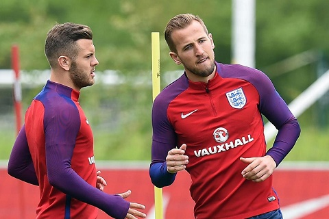 Wilshere va Kane chinh thuc tro lai DT Anh hinh anh