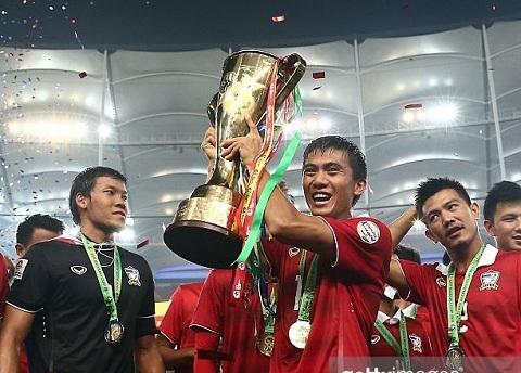 Neu vo dich AFF Cup 2016, Thai Lan se duoc cong diem chu khong bi tut hang nhu lan giai 2014.