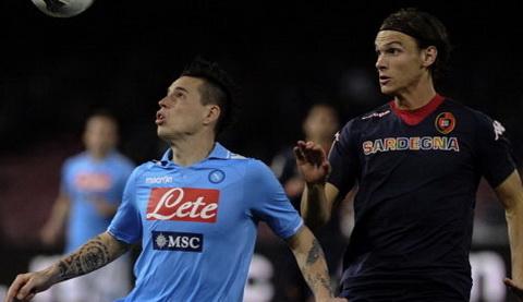 Nhan dinh Cagliari vs Napoli 18h30 ngay 1112 (Serie A 201617) hinh anh