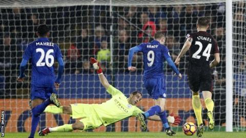 Leicester 4-2 Man City Bay tren doi canh Vardy va Mahrez hinh anh 3