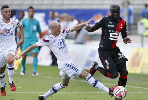 Nhan dinh Lyon vs Rennes 21h00 ngay 1112 (Ligue 1 201617) hinh anh