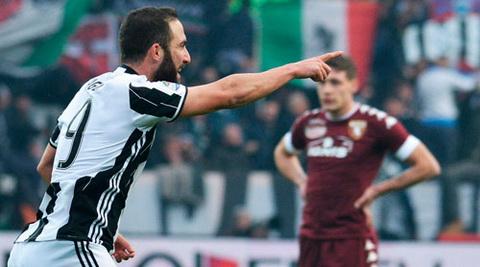 Tong hop Torino 1-3 Juventus (Vong 16 Serie A 201617) hinh anh