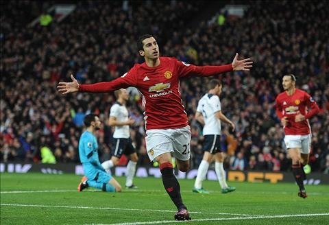 Mkhitaryan & Herrera Sung luc va dao gam cua Man United hinh anh
