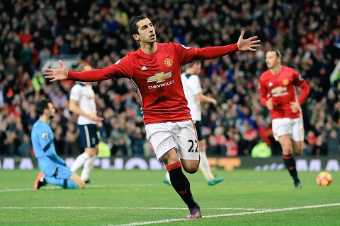 Mkhitaryan co ban thang dau tien tai Premier League