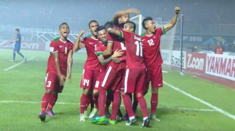 Clip ban thang Indonesia vs 2-1 Thai Lan Luot di CK AFF Cup 2016 hinh anh