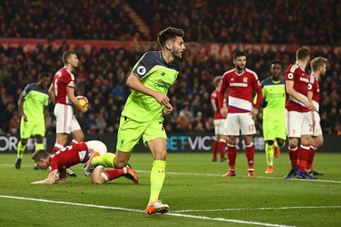 Tong hop Middlesbrough 0-3 Liverpool (Vong 16 NHA 201617) hinh anh