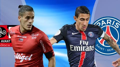 Nhan dinh Guingamp vs PSG 23h00 ngay 1712 (Ligue 1 201617) hinh anh