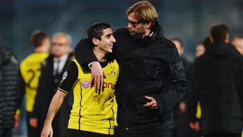 Buoc ngoat trong su nghiep cua Mkhitaryan la quang thoi gian thi dau o Dortmund.