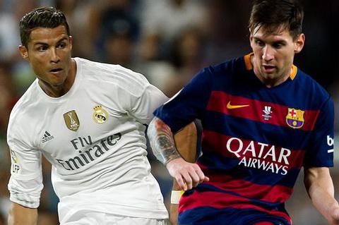 Cris Ronaldo va Messi ngang tai ngang suc o dau truong La Liga.