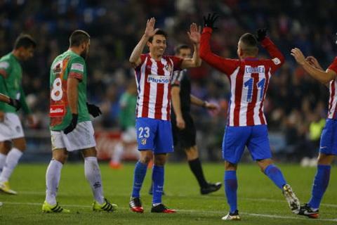Tong hop Atletico Madrid 4-1 Guijuelo (Cup Nha vua TBN 201617) hinh anh