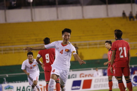 Tong hop U21 Viet Nam 1-3 U21 Thai Lan (BK Giai U21 quoc te 2016) hinh anh