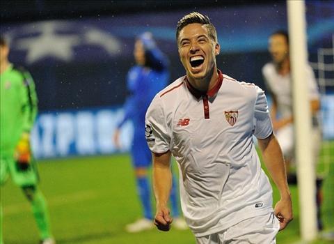 Nasri tim lai nu cuoi o Sevilla