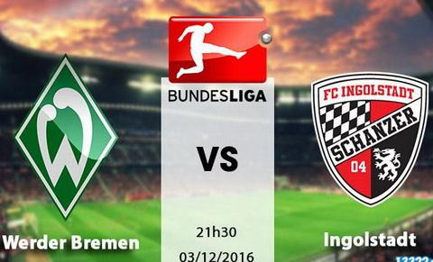 Nhan dinh Werder Bremen vs Ingolstadt 21h30 ngay 0312 (Bundesliga 201617) hinh anh