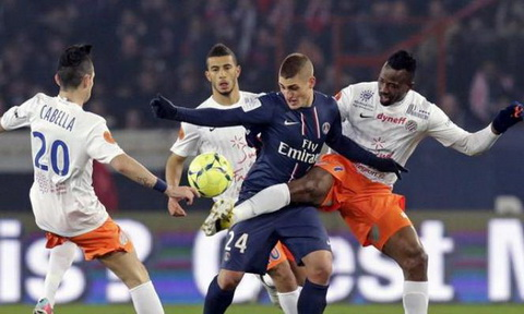 Nhan dinh Montpellier vs PSG 23h00 ngay 312 (Ligue 1 201617) hinh anh