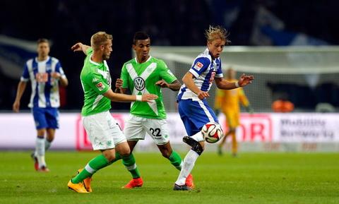 Nhan dinh Wolfsburg vs Hertha Berlin 21h30 ngay 0312 (Bundesliga 201617) hinh anh