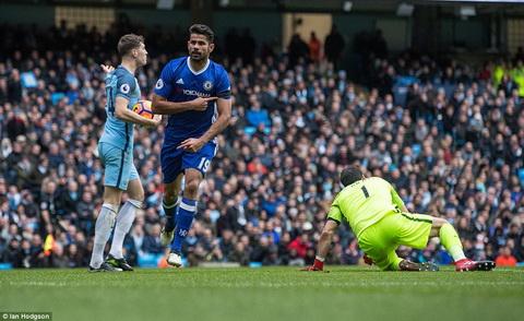 Diego Costa cung nhu cac cau thu Chelsea dut diem day hieu qua.
