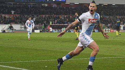 Napoli 3-0 Inter Milan Tro lai Top 3 Serie A hinh anh