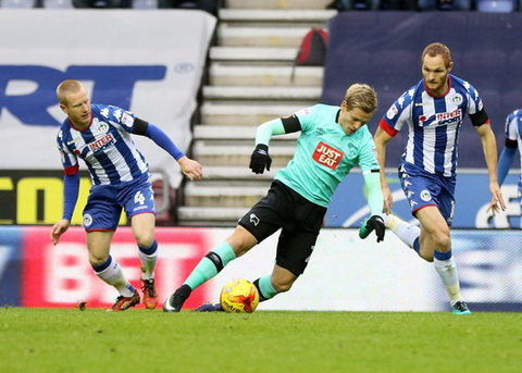 Nhan dinh Derby County vs Wigan 22h00 ngay 3112 (Hang Nhat Anh 201617) hinh anh