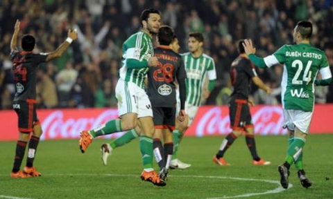 Nhan dinh Betis vs Celta Vigo 18h00 ngay 0412 (La Liga 201617) hinh anh