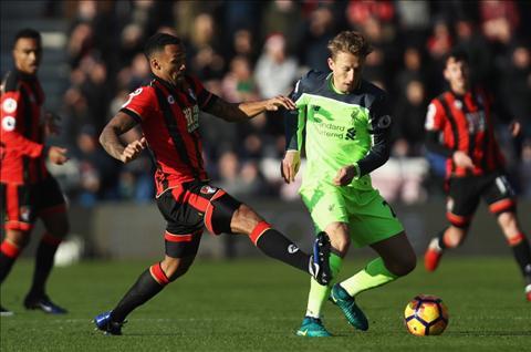 Bournemouth 4-3 Liverpool Khi hang thu The Klopp bi vach tran hinh anh