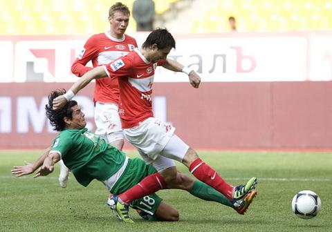 Nhan dinh Spartak Moscow vs Rubin Kazan 23h30 ngay 512 (VDQG Nga 201617) hinh anh
