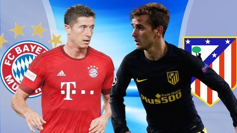 Nhan dinh Bayern Munich vs Atletico Madrid 02h45 ngay 712 (Champions League 201617) hinh anh