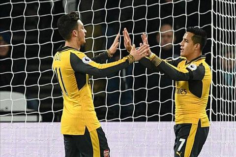 Wenger len tieng ve hop dong moi voi Sanchez va Ozil hinh anh